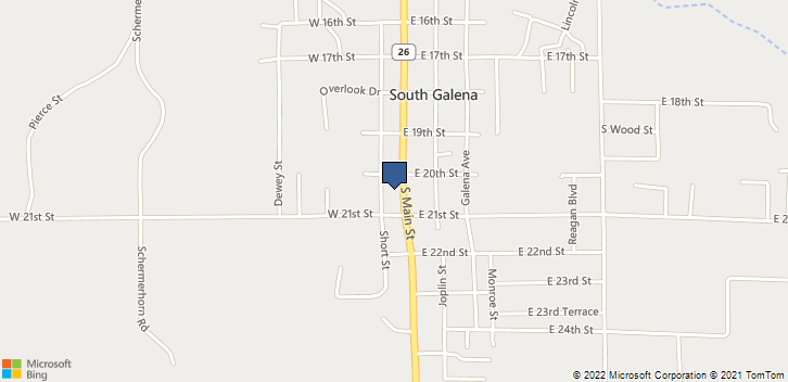 2012 S Main St  Galena, KS, 66739 Map