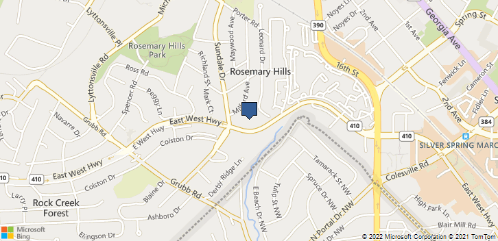 2015 East-West Hwy Silver Spring, MD, 20910 Map