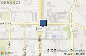 Bing Map of 20340 Hawthorne Blvd Ste A Torrance, CA 90503