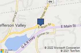 Bing Map of 204 E Main St Jefferson Valley, NY 10535