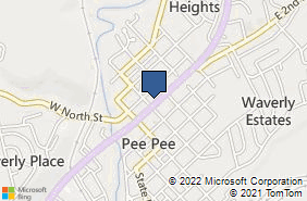 Bing Map of 205 E Emmitt Ave Waverly, OH 45690