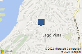 Bing Map of 20811 Dawn Dr Ste 800 Lago Vista, TX 78645