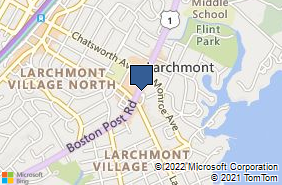 Bing Map of 2097 Boston Post Rd Larchmont, NY 10538