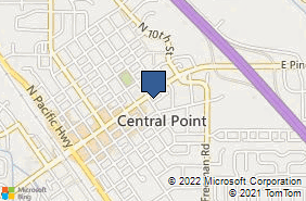 Bing Map of 21 S 7th St Central Point, OR 97502