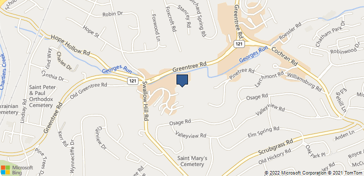 2101 Greentree Rd Ste A103 Pittsburgh, PA, 15220 Map