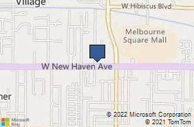 Bing Map of 2104 W New Haven Ave Melbourne, FL 32904