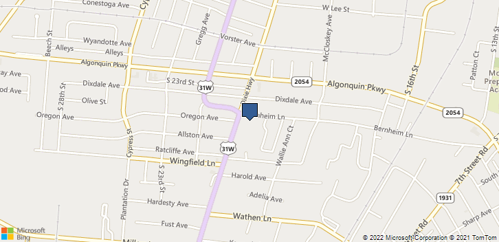2105 Dixie Hwy Louisville, KY, 40210 Map