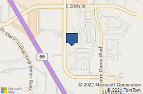 Bing Map of 2105 Forest Ave Ste 110 Chico, CA 95928