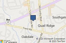 Bing Map of 2113 S Glenburnie Rd Ste A New Bern, NC 28562