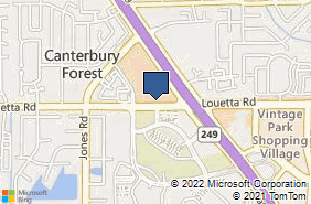 Bing Map of 21133 Tomball Pkwy Houston, TX 77070