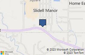 Bing Map of 2116 Gause Blvd W Ste C Slidell, LA 70460