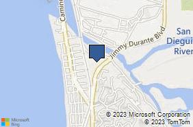 Bing Map of 2120 J Durante Blvd Ste 104 Del Mar, CA 92014