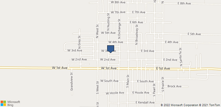 214 W 3rd Ave  Saint John, KS, 67576 Map