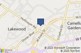 Bing Map of 2143 Hoffmeyer Rd Ste A Florence, SC 29501
