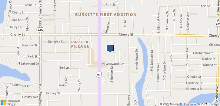 217 S Tyndall Pkwy Panama City, FL, 32404 Map