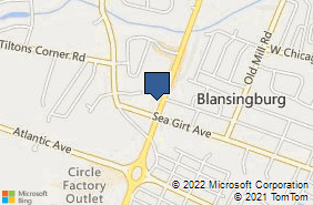 Bing Map of 2175 Route 35 Ste 2 Sea Girt, NJ 08750
