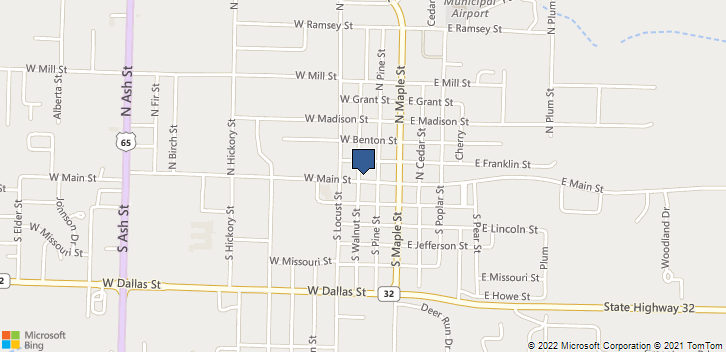 219 West Main Street Buffalo, MO, 65622 Map