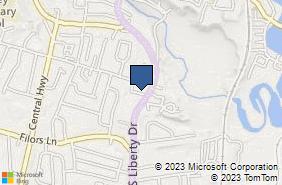 Bing Map of 22 Liberty Square Mall Stony Point, NY 10980