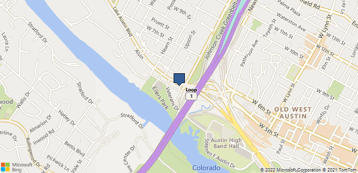 2203 Lake Austin Blvd Austin, TX, 78703 Map