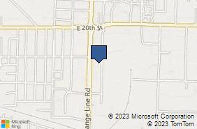 Bing Map of 2209 S Range Line Rd Joplin, MO 64804