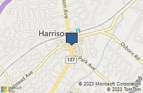 Bing Map of 221 Harrison Ave Harrison, NY 10528