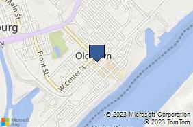 Bing Map of 221 Walnut St Lawrenceburg, IN 47025