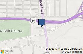 Bing Map of 2210 S Belt Hwy # C Saint Joseph, MO 64503