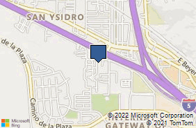 Bing Map of 223 Via San Ysidro 8 San Ysidro, CA 92173