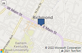 Bing Map of 226 E Main St Richmond, KY 40475