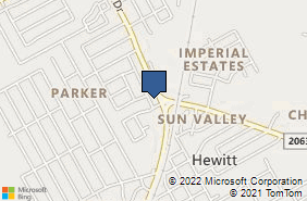 Bing Map of 227 N Hewitt Dr Hewitt, TX 76643
