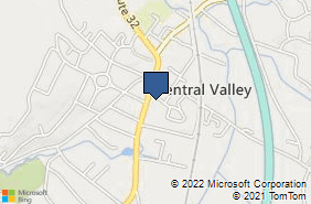 Bing Map of 228 Route 32 Central Valley, NY 10917