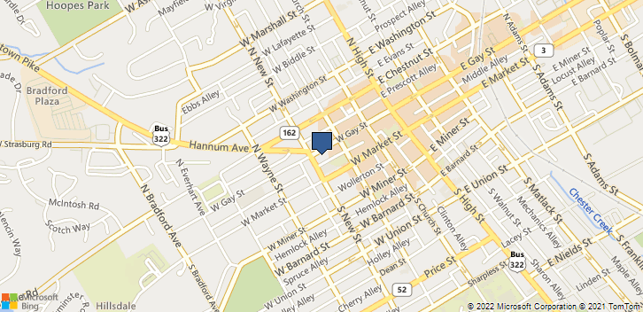 228 W Gay St  West Chester, PA, 19380 Map