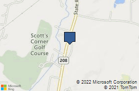 Bing Map of 2288 State Route 208 Montgomery, NY 12549