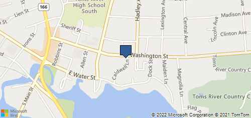 Bing Map of 229 Washington St Toms River, NJ 08753