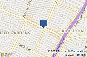 Bing Map of 230-12 Merrick Blvd Laurelton, NY 11413