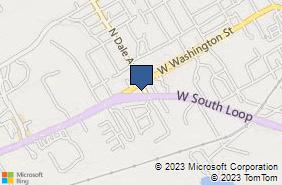 Bing Map of 2301 W South Loop Ste A Stephenville, TX 76401