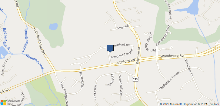 2303 Prima Road  Mitchellville, MD, 20721 Map