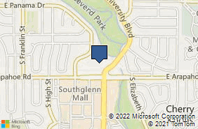 Bing Map of 2305 E Arapahoe Rd Ste 130 Centennial, CO 80122