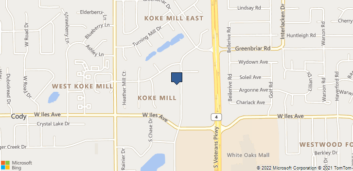 2309 W White Oaks Dr Springfield, IL, 62704 Map