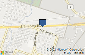 Bing Map of 2312 E Business 190 Copperas Cove, TX 76522
