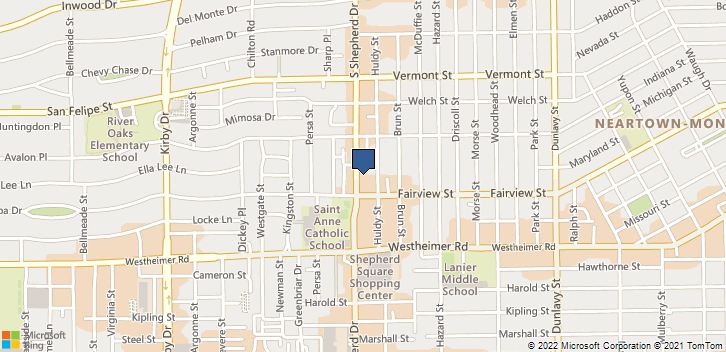 2323 S Shepherd Ste 1106 Houston, TX, 77019 Map