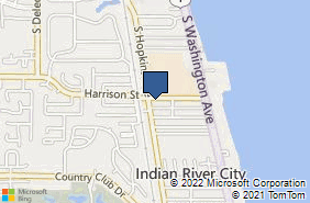 Bing Map of 233 Harrison St Ste A Titusville, FL 32780