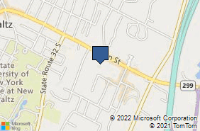 Bing Map of 234 Main St New Paltz, NY 12561