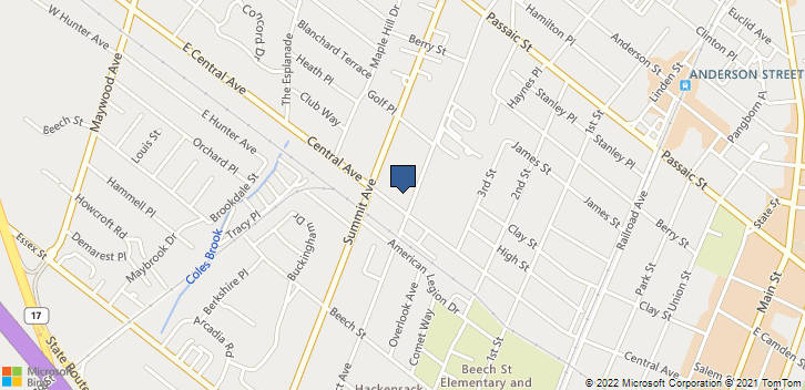 235 Prospect Ave Hackensack, NJ, 07601 Map