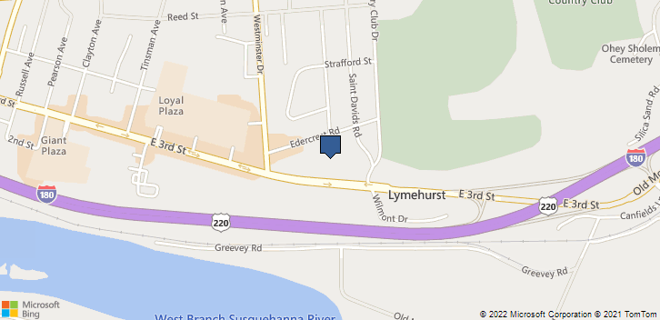 2355 E 3rd St Williamsport, PA, 17701 Map