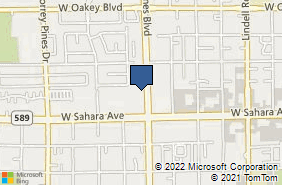 Bing Map of 2375 S Jones Blvd Ste 18 Las Vegas, NV 89146