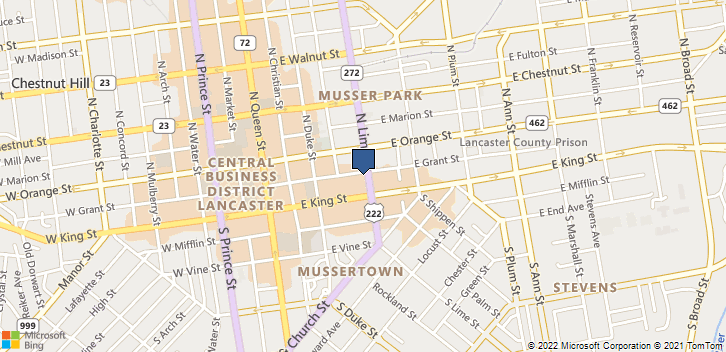 24 N Lime St Lancaster, PA, 17602 Map