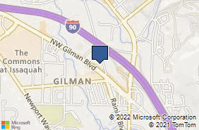 Bing Map of 240 Nw Gilman Blvd Ste H Issaquah, WA 98027