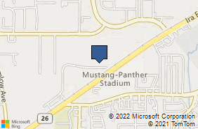 Bing Map of 2401 Ira E Woods Ave Ste 400 Grapevine, TX 76051