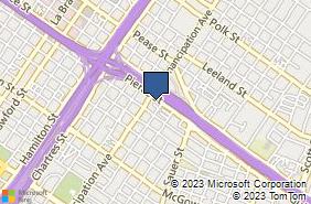 Bing Map of 2410 Pierce St # A Houston, TX 77003